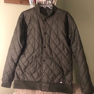 The North Face Quilted Bomber